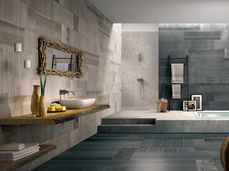 Quale rivestimento scegliere per il bagno pillole di t p for Grandi bagni padronali