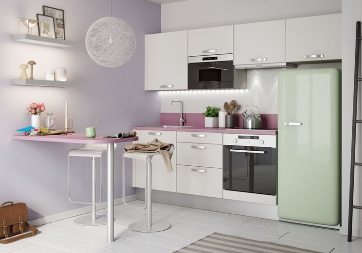 Cucine Moderne In Poco Spazio.5 Consigli Per Guadagnare Spazio In Una Cucina Piccola